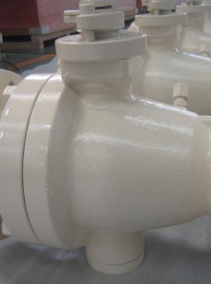 api 6d trunnion mounted ball valve