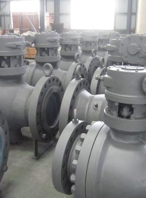 trunnion mounted ball valve api 6d