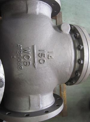 Check valve 14in 150LB RF flange end