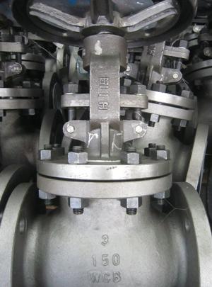 Globe valve 3in 150LB RF flange end